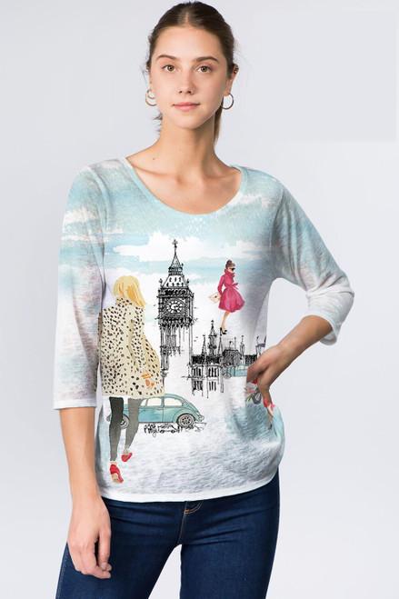 Et' Lois Big Ben London Soft Knit Top