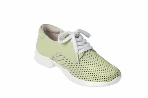 Litfoot Leather Lace Up Trainer Shoe