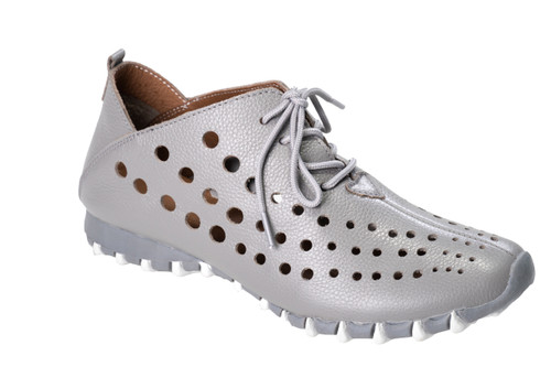 Litfoot Leather Lace-Up Sneaker Style Shoe