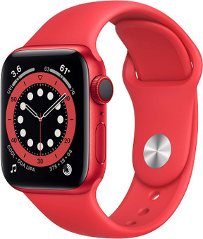 Apple Watch Series 6 GPS & Cellular 44mm - Product Red Aluminum Product Red Sport Band