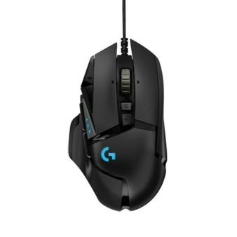 Logitech G502 Hero High Performance Gaming Mouse - Black