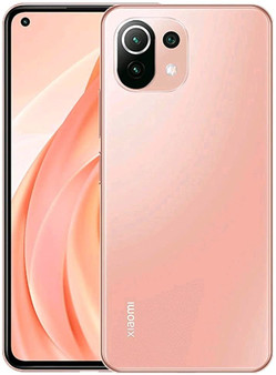 Xiaomi Mi 11 Lite 128GB 8GB RAM Factory Unlocked (GSM Only | No CDMA - not Compatible with Verizon/Sprint) International Version-Peach Pink