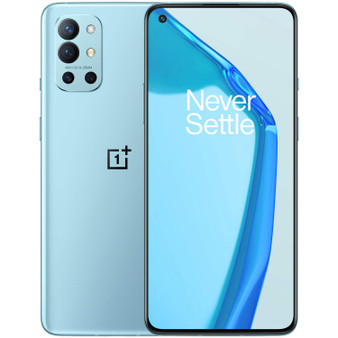OnePlus 9R 5G Dual LE2100 128GB 8GB RAM Factory Unlocked (GSM Only | No CDMA - not Compatible with Verizon/Sprint) China Version - Lake Blue