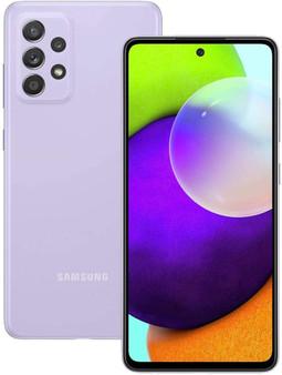 Samsung Galaxy A52 5G SM-A5260 256GB 8GB RAM Factory Unlocked (GSM Only | No CDMA - not Compatible with Verizon/Sprint) International Version – Purple