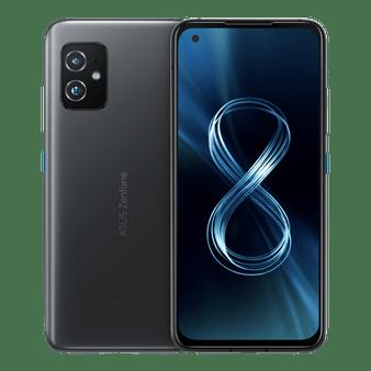 Asus Zenfone 8 ZS590KS 5G Dual 128GB 8GB RAM Factory Unlocked (GSM Only | No CDMA - not Compatible with Verizon/Sprint) International Version - Black