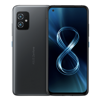 Asus Zenfone 8 ZS590KS 5G Dual 256GB 8GB RAM Factory Unlocked (GSM Only | No CDMA - not Compatible with Verizon/Sprint) International Version - Black