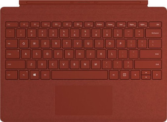 Microsoft - Surface Pro Signature Type Cover - Poppy Red