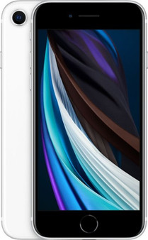 Apple iPhone SE A2296 64GB Nano and Esim Factory Unlocked (GSM Only | No CDMA - not Compatible with Verizon/Sprint) International Version - White