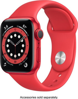Apple Watch Series 6 GPS 40mm Product Red Aluminum Case with Product Red Sport Band | M00A3