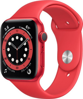 Apple Watch Series 6 GPS 44mm Product Red Aluminum Case with Product Red Sport Band | M00M3