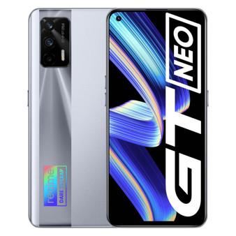 Realme GT Neo 5G Dual 128GB 8GB RAM Factory Unlocked (GSM Only | No CDMA - not Compatible with Verizon/Sprint) International Version - Geek Silver