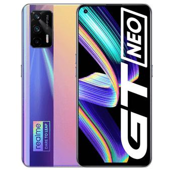 Realme GT Neo 5G Dual 128GB 8GB RAM Factory Unlocked (GSM Only | No CDMA - not Compatible with Verizon/Sprint) International Version - Fantasy