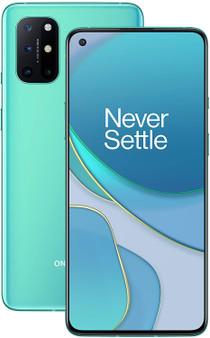 OnePlus 8T 5G Dual 256GB ROM 12GB RAM Factory Unlocked Android Smartphone International Version | Aquamarine Green