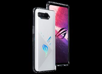 ASUS ROG 5S ZS676KS 512GB 18GB Factory Unlocked GSM Only | No CDMA - not Compatible with Verizon/Sprint International Version | Aurora White