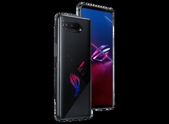 ASUS ROG 5S ZS676KS 512GB 18GB Factory Unlocked GSM Only | No CDMA - not Compatible with Verizon/Sprint International Version | Phantom Black