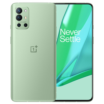 OnePlus 9R 5G Dual LE2110 256GB 12GB RAM Factory Unlocked (GSM Only | No CDMA - not Compatible with Verizon/Sprint) China Version | Green