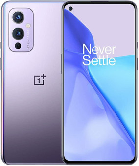 OnePlus 9 5G Dual LE2110 256GB 12GB RAM Factory Unlocked (GSM Only | No CDMA - not Compatible with Verizon/Sprint) China Version | Winter Mist (Purple)