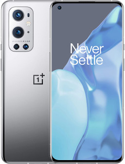 OnePlus 9 Pro 5G Dual LE2110 128GB 8GB RAM Factory Unlocked (GSM Only | No CDMA - not Compatible with Verizon/Sprint) China Version | Morning Mist (Silver)
