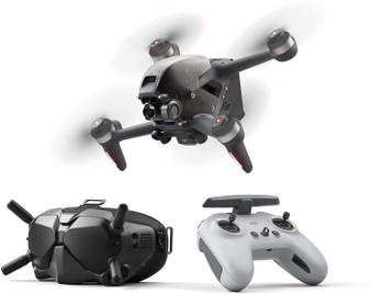 DJI FPV Combo -First-Person View Drone UAV Quadcopter-Gray