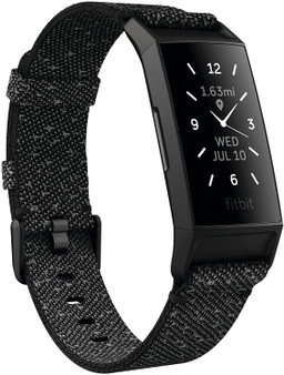 Fitbit Charge 4 Black Advanced Fitness Tracker