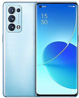 Oppo Reno 6 Pro 5G Dual CPH2247 256GB 12GB RAM Factory Unlocked (GSM Only | No CDMA - not Compatible with Verizon/Sprint) International Version - Arctic Blue