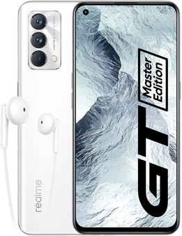 Realme GT Master Edition 5G Dual 128GB 6GB RAM Factory Unlocked (GSM Only | No CDMA - not Compatible with Verizon/Sprint) International Version – Lunar White