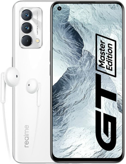 Realme GT Master Edition 5G Dual 256GB 6GB RAM Factory Unlocked (GSM Only | No CDMA - not Compatible with Verizon/Sprint) International Version – Lunar White