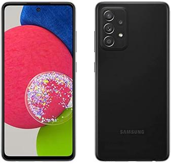 Samsung Galaxy A52s A528B 5G Dual 128GB 6GB RAM Factory Unlocked (GSM Only | No CDMA - not Compatible with Verizon/Sprint) International Version - Black