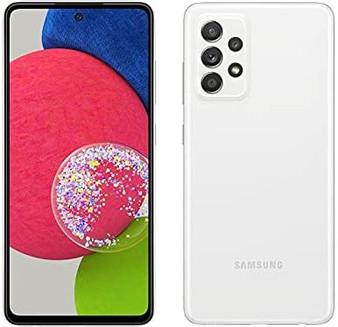 Samsung Galaxy A52s A528B 5G Dual 128GB 6GB RAM Factory Unlocked (GSM Only | No CDMA - not Compatible with Verizon/Sprint) International Version -White