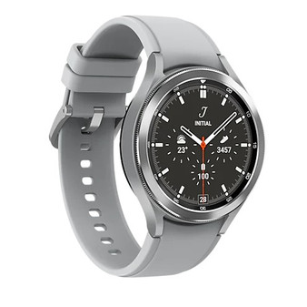 SAMSUNG Galaxy Watch 4 Classic R890 46mm Smartwatch GPS WiFi International Model-Silver