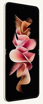 Samsung Galaxy Z Flip 3 F7110 5G 256GB 8GB RAM Factory Unlocked (GSM Only | No CDMA - not Compatible with Verizon/Sprint) International Version – Cream