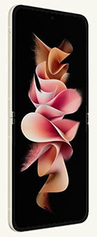 Samsung Galaxy Z Flip 3 F7110 5G 128GB 8GB RAM Factory Unlocked (GSM Only | No CDMA - not Compatible with Verizon/Sprint) International Version – Cream