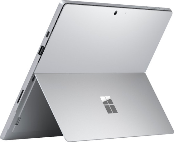 """Microsoft - Surface Pro 7 - 12.3"""" Touch Screen - Intel Core i7 - 16GB Memory - 256GB SSD - Device Only (Latest Model) - Platinum"""