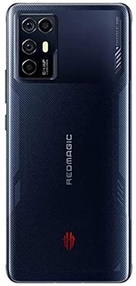 ZTE Nubia RedMagic 6R 5G Dual 128GB 8GB RAM Factory Unlocked (GSM Only   No CDMA - not Compatible with Verizon/Sprint) International Version – Black