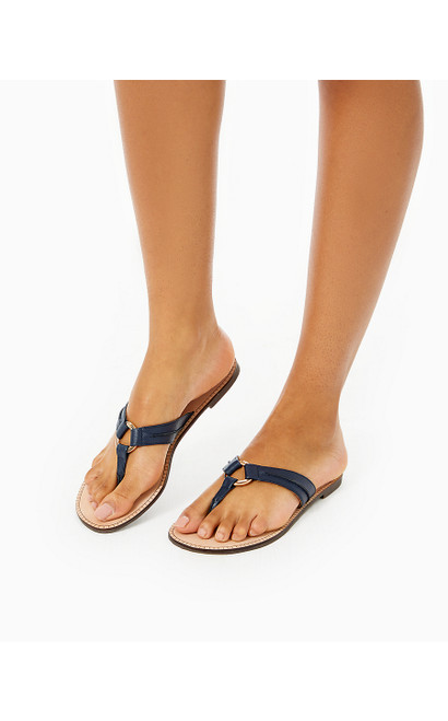 MCKIM SANDAL - TRUE NAVY