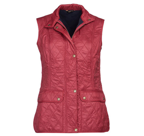 WRAY GILET - DEEP CLARET / NAVY BY BARBOUR