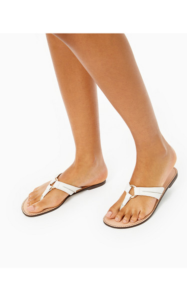 MCKIM SANDAL - RESORT WHITE