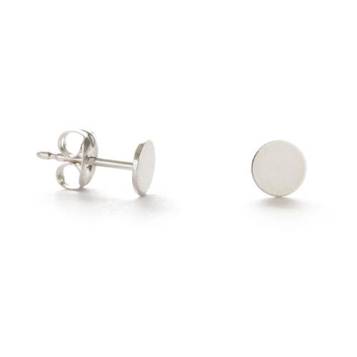 Sterling Silver Dot Studs