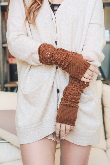 North Arm Warmers - Rust
