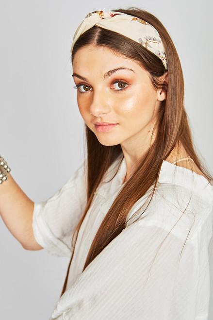 Boho Headband - Cream