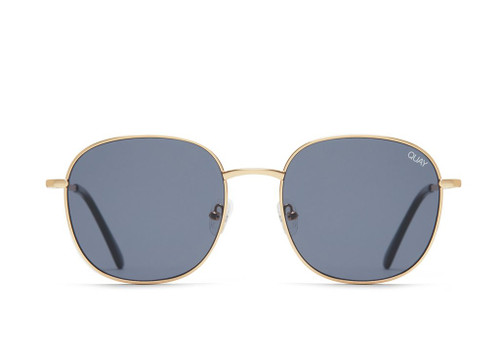Jezabell Rimless Gold/Smoke Lens
