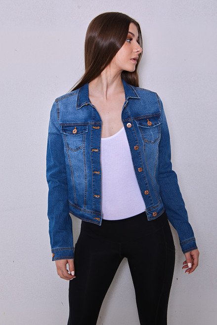 Kyla Denim Jacket - Medium Wash