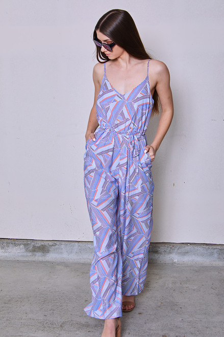 Summer Jumpsuit - Red
