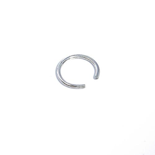 Round Ear Cuff - Silver