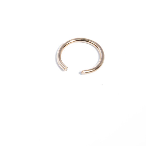 Round Ear Cuff - Gold