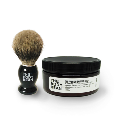 Old Fashioned Shaving Brush W / Brush