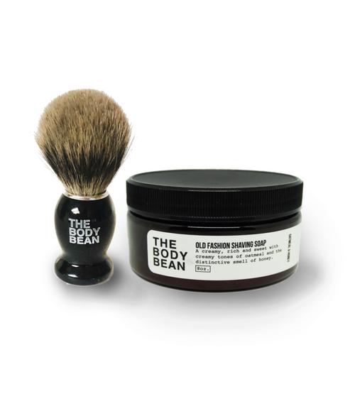Old Fashioned Shaving Brush W / Brush
