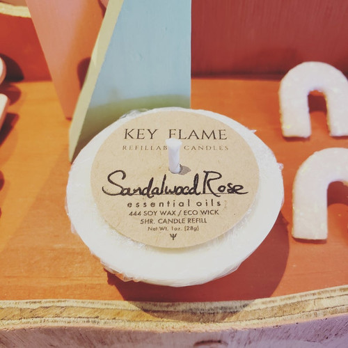 Sandalwood & Rose Candle Refill