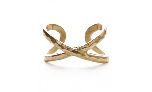 Crossover Ring - Gold