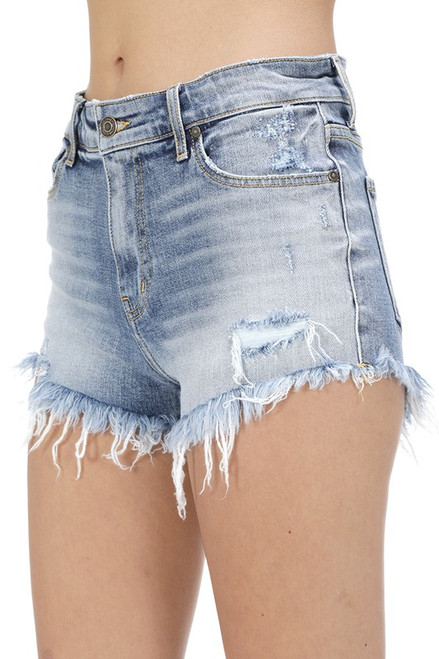 Lulu High Rise Cut Offs - Compass MD